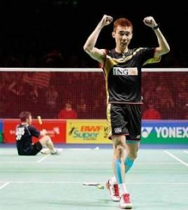 Lee Chong Wei juara dunia