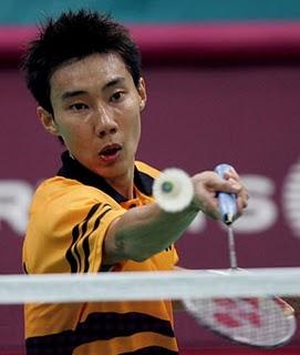 Lee Chong Wei jaguh badminton negara