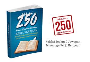 250 soalan dan jawapan temuduga kerja kerajaan spa
