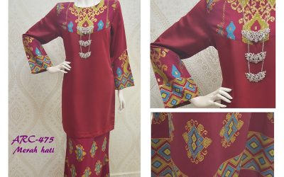 Baju Kurung Moden Songket Terbaru Adora Rose Cavelli