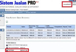 KOMISEN SISTEM JUALAN PRO RAHSIA RM100 - RM500 SEHARI