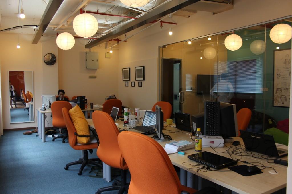 Office Tech Team Nuffnang dan Churp Churp KALAU OFFICE AKU MACAM NI, AKU TAK BERHENTI KERJA KOT