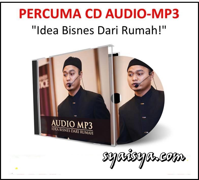 PERCUMA! CD AUDIO MP3 IDEA BISNES DARI RUMAH
