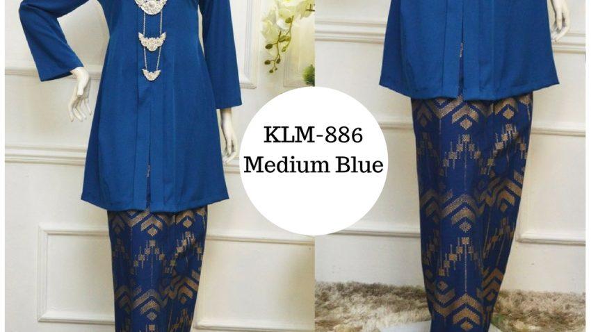 baju-kebarung-songket-kebarong-terkini-biru-medium-blue-klm-886