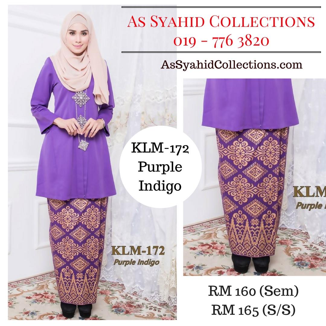 baju-kebaya-kurung-kebarung-kebarong-songket-terkini-online-purple-indigo-ungu-klm-172
