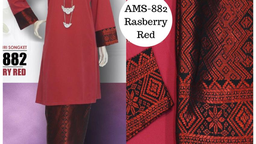 baju-kurung-2017-kurung-pahang-songket-merah-rasberry-red-ams-882