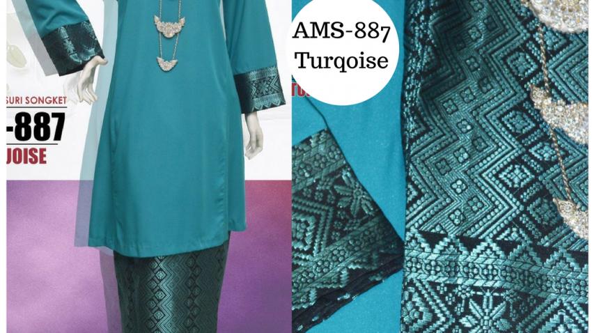 baju-kurung-2017-kurung-pahang-songket-turqoise-ams-887
