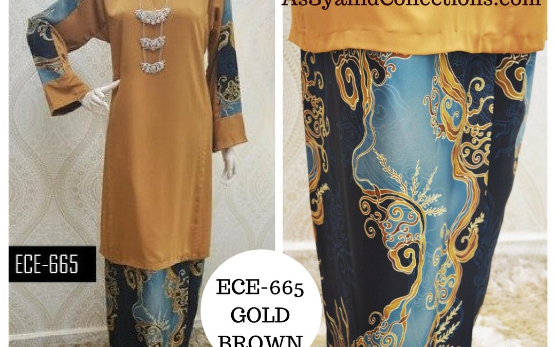 Baju Kurung Batik Terkini 2017 Koleksi ECE