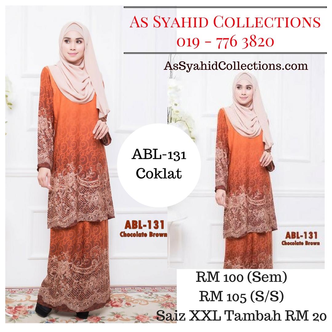 baju-kurung-batik-pahang-terkini-2016-online-coklat-ABL-131