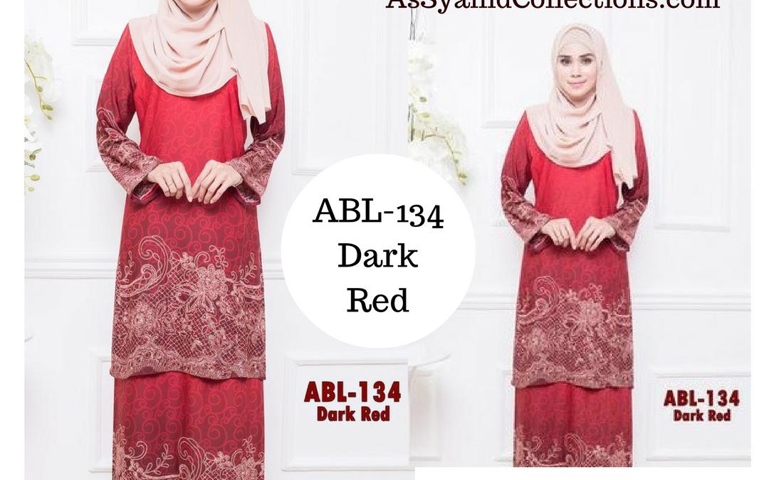 Baju Kurung Batik (Kurung Pahang) Koleksi ABL