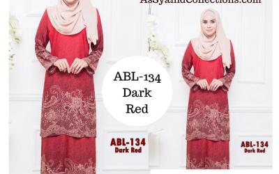 Terbaru 2017! Baju Kurung Batik (Kurung Pahang) Koleksi ABL