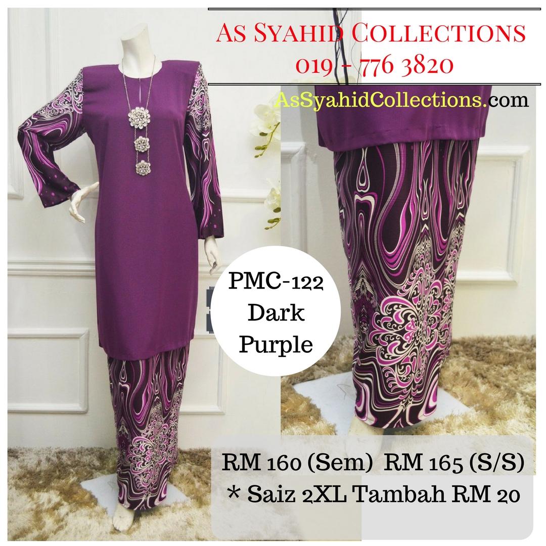 baju-kurung-malaysia-batik-terkini-2017-online-ungu-gelap-dark-purple-PMC-122
