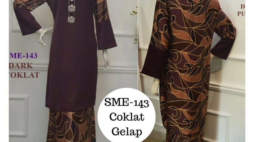 baju-kurung-moden-labuh-malaysia-pucci-batik-coklat-gelap-dark-coklat-SME-143