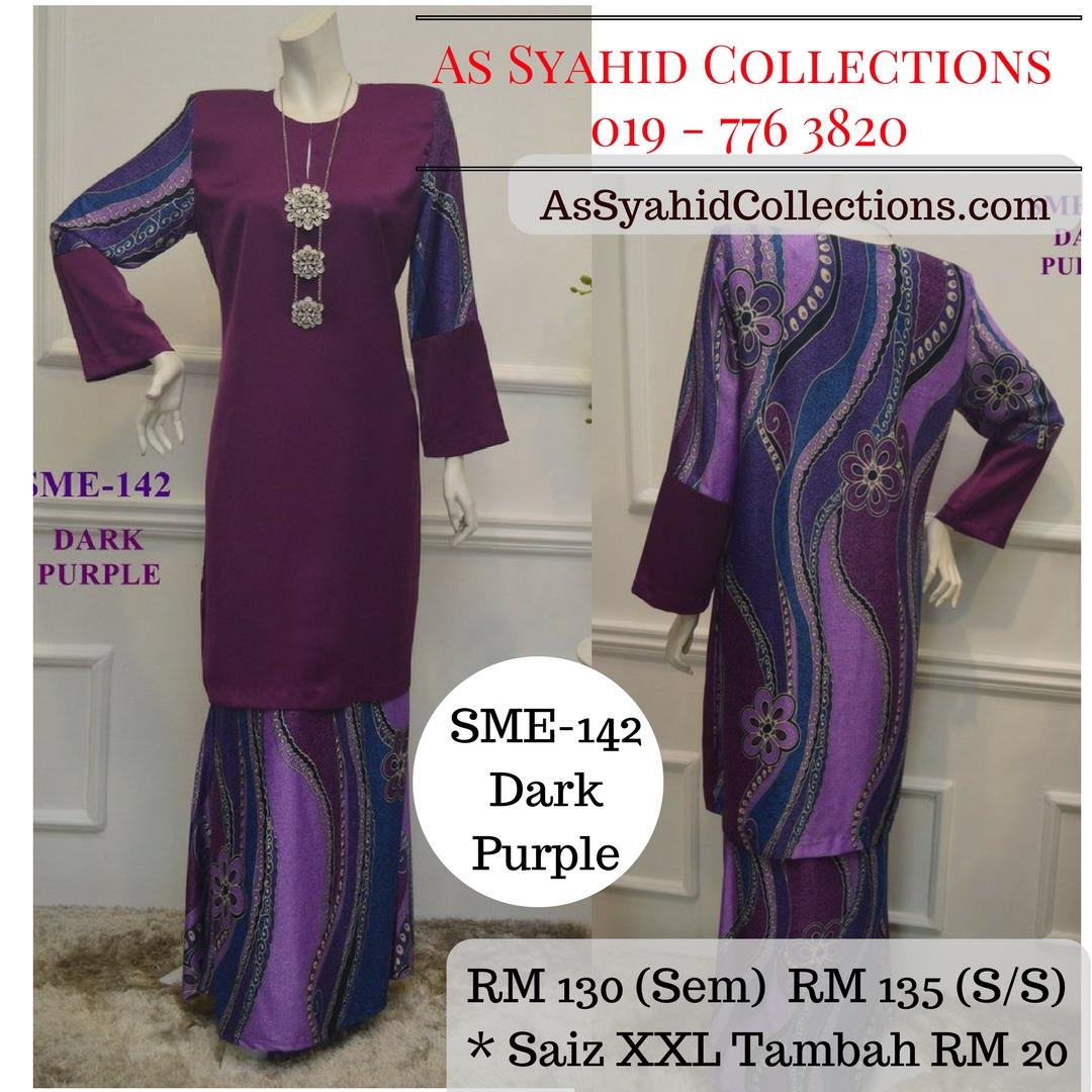 baju-kurung-moden-labuh-malaysia-pucci-batik-ungu-gelap-dark-purple-SME-142