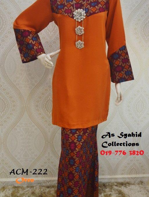 Baju Kurung Moden Songket Sarawak Adora Claretta Meisie