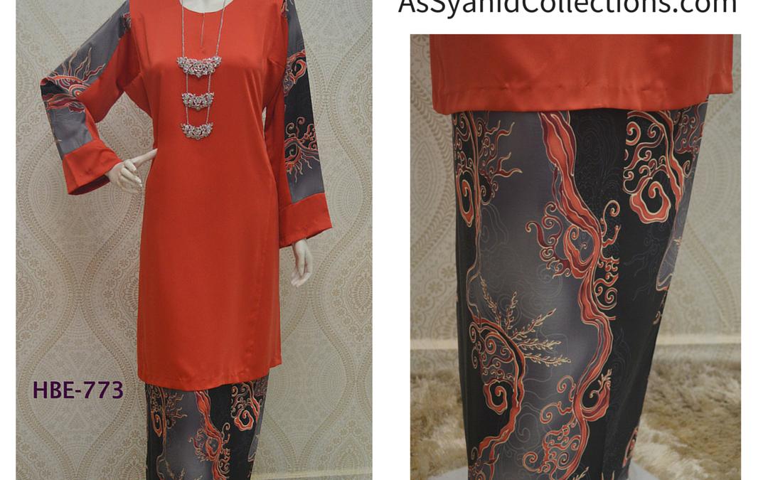Baju Kurung Batik : Kurung Pahang Heritage Batik Series