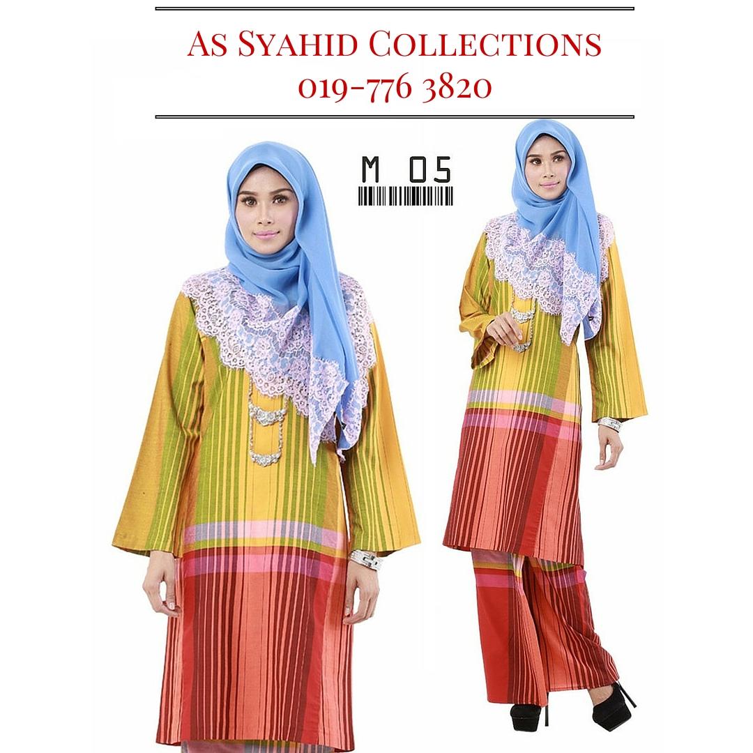 baju-kurung-pahang-pelikat-tradisional-kesultanan-melayu-kuning-hijau-murah-terkini-online-M-05.jpg