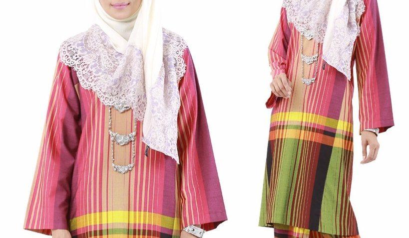 baju-kurung-pahang-pelikat-tradisional-kesultanan-melayu-pink-merah-jambu-murah-terkini-online-M-02