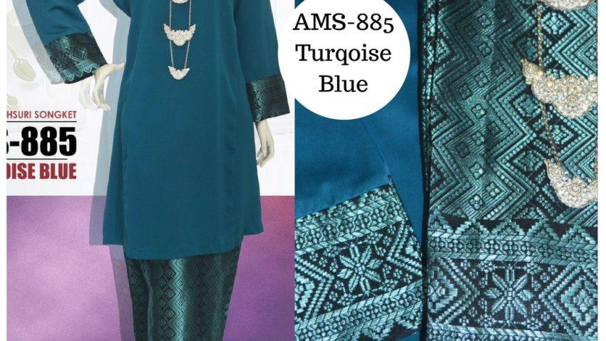 baju-kurung-pahang-songket-biru-turqoise-blue-ams-885