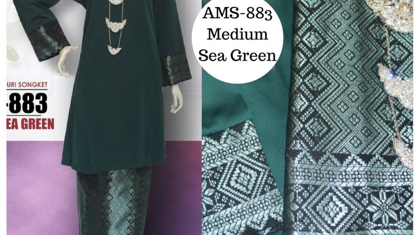 baju-kurung-pahang-songket-hijau-medium-sea-green-ams-883