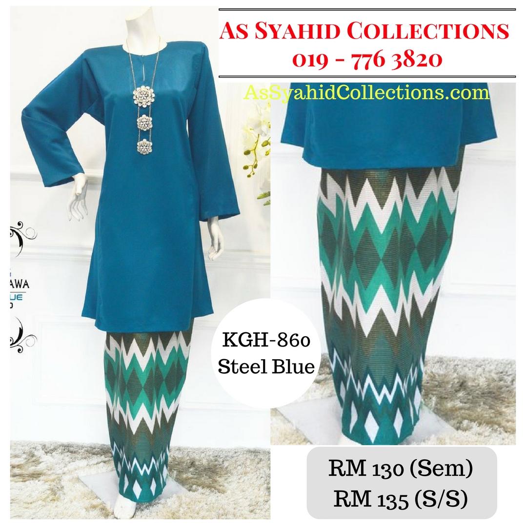 baju-kurung-pahang-songket-terkini-2017-biru-steel-blue-KGH-860