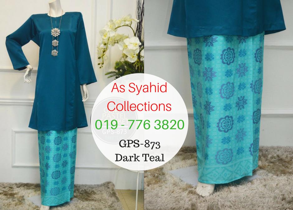 Baju Kurung Pahang Songket Warna Pastel Koleksi Gema Pastel Songket