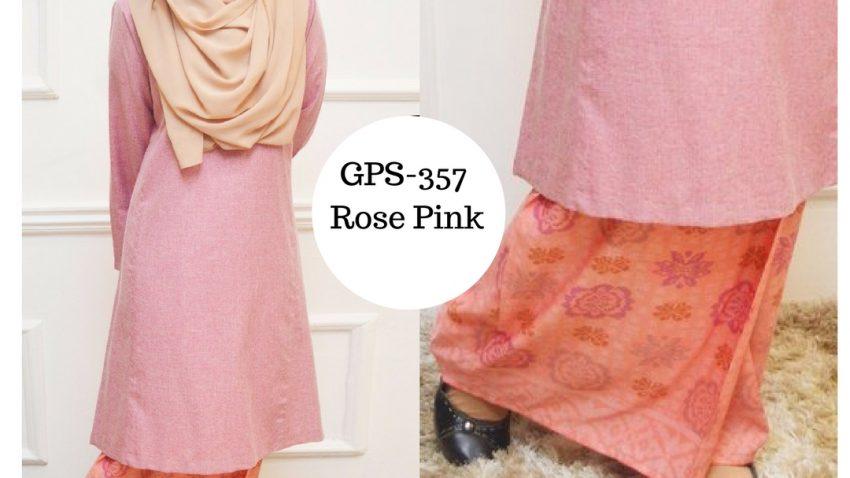 baju-kurung-pahang-songket-terkini-rose-pink-merah-jambu-gps-357