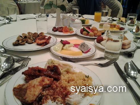 buffet ramadhan 2013 di hotel yang sedap