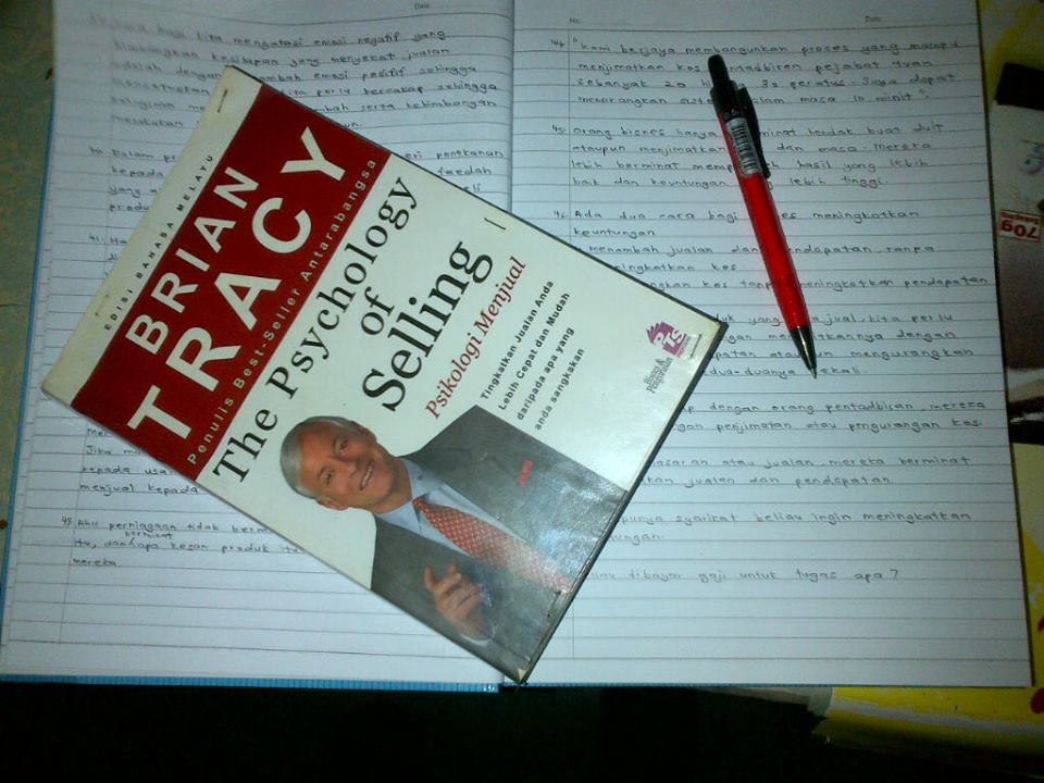 buku brian tracy the psychology of selling psikologi menjual