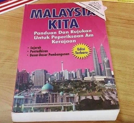 buku malaysia kita tebal