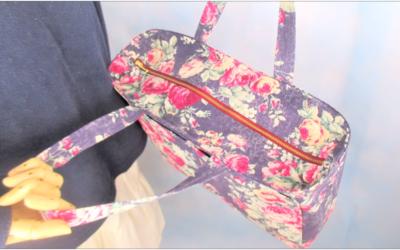 Video Tutorial Cara Jahit Lined Tote Bag Boxy Corner