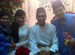 gambar pernikahan iera syazira dan azad jasmin
