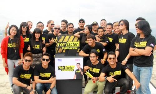AARON AZIZ PENGACARA FEAR FACTOR SELEBRITI MALAYSIA