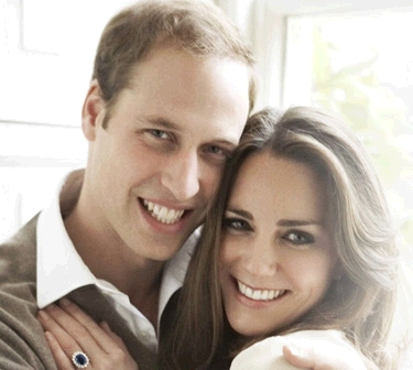 gambar Putera William dan Kate Middleton