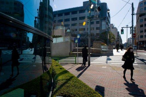 gambar gempa bumi di Tokyo