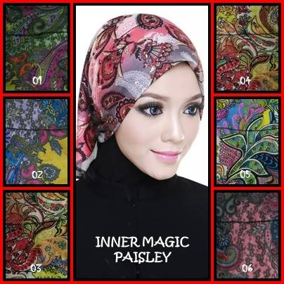 INNER MAGIC CORAK PAISLEY