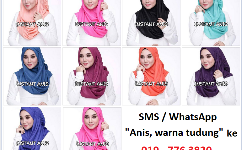 instant shawl anis