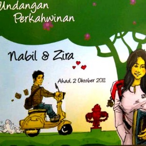 VIDEO PRA PERKAHWINAN NABIL DAN NAZIRA: SAVE THE DATE