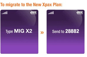 how to migrate Xpax to X2