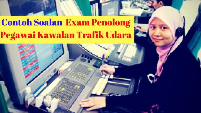 nota, rujukan dan contoh soalan peperiksaan penolong pegawai kawalan trafik udara A29