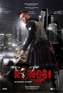 poster filem Kongsi lu langsi lu mati