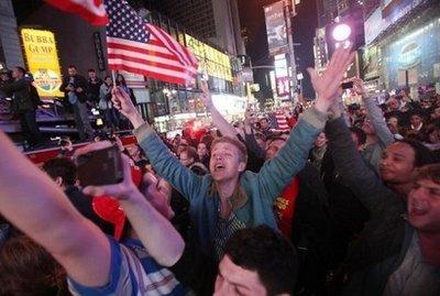 riaksi american terhadap kematian osama bin laden OSAMA BIN LADEN MENINGGAL DUNIA