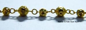 gelang tangan budak emas 916