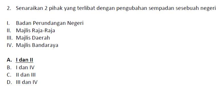 soalan pengetahuan am exam penolong pegawai tadbir n29