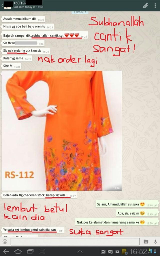 baju raya limited edition cantik best murah lembut