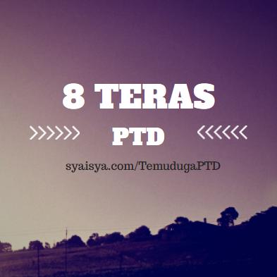 8 TERAS PTD – TUGAS & BIDANG UTAMA PEGAWAI TADBIR DIPLOMATIK