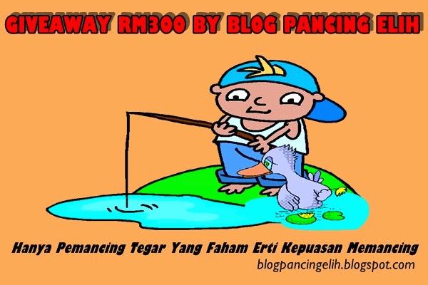 GIVEAWAY RM300 BY BLOG PANCING ELIH