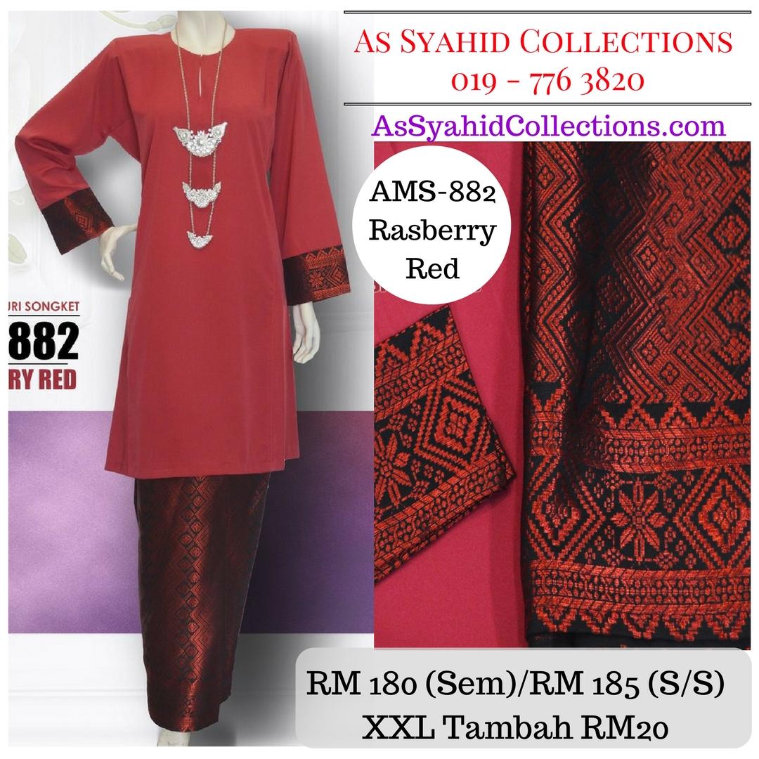 baju-kurung-pahang-songket-merah-rasberry-red-ams-882
